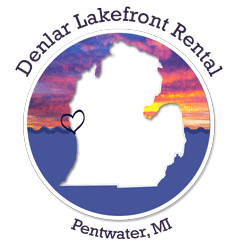 Denlar Lakefront Rental on Pentwater Lake